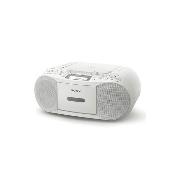 ソニー CD対応ラジオ CFD-S70-WC【創業73年、新品不良交換対応】