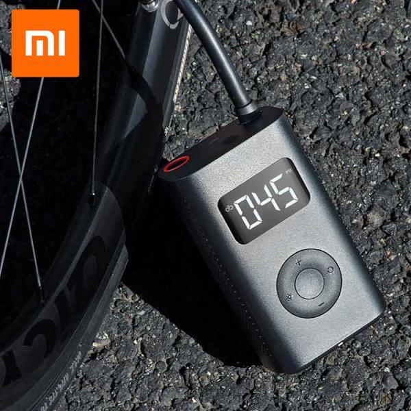 シャオミ xiaomi 空気入れ 自転車 充電式 電動エアーコンプレッサー オートバイ 車 エアポンプ ボール エアーコンプレッサー エアコンプレッサーツール