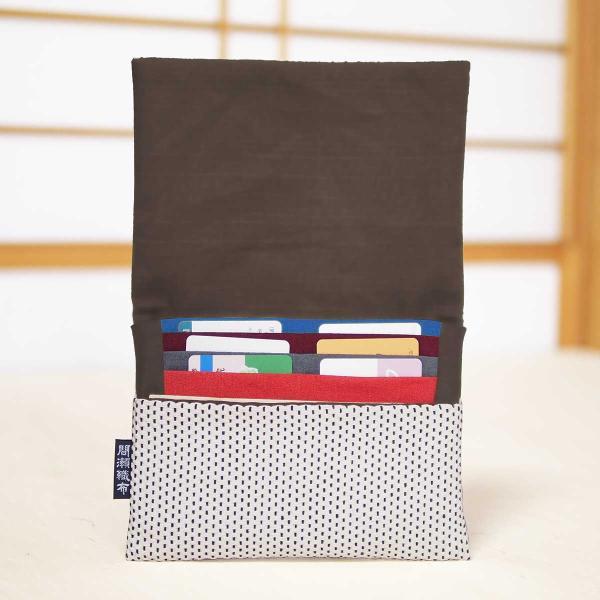 お薬手帳ケース母子手帳ケースネコポス可(1個)プレゼント和柄刺し子おみやげお土産日本和小物