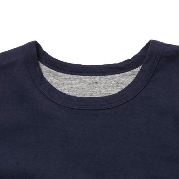 BAMBOO SHOOTS バンブーシュート リバーシブル Tシャツ 無地 日本製|mash-webshop|03