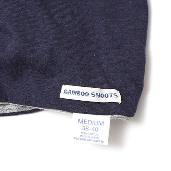 BAMBOO SHOOTS バンブーシュート リバーシブル Tシャツ 無地 日本製|mash-webshop|04