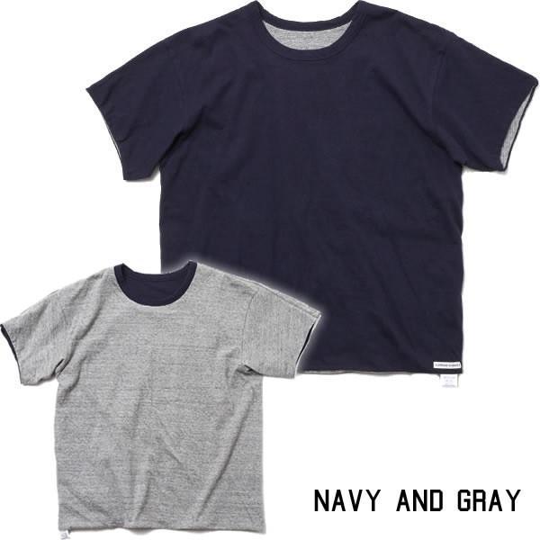 BAMBOO SHOOTS バンブーシュート リバーシブル Tシャツ 無地 日本製|mash-webshop|06