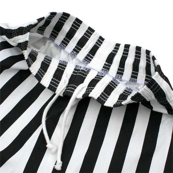 クックマン シェフパンツ ストライプ Cookman Chef Pants 「Wide stripe」 Black|mash-webshop|04