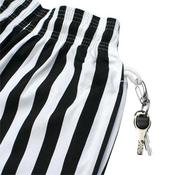 クックマン シェフパンツ ストライプ Cookman Chef Pants 「Wide stripe」 Black|mash-webshop|05