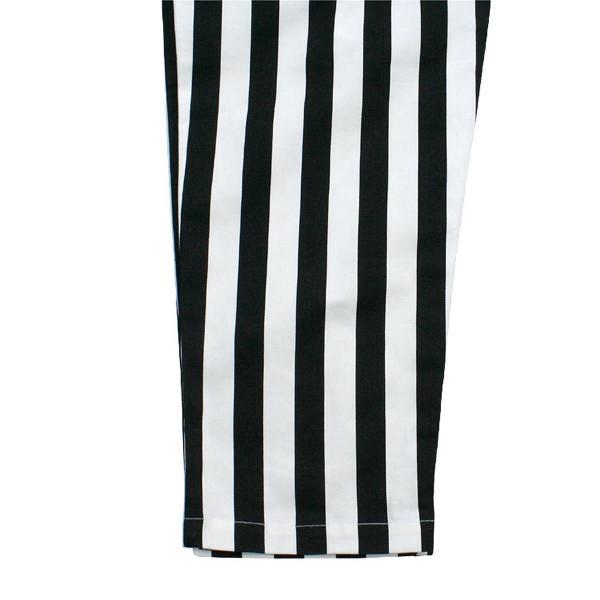 クックマン シェフパンツ ストライプ Cookman Chef Pants 「Wide stripe」 Black|mash-webshop|06