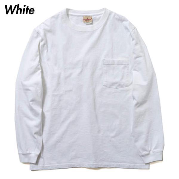 グッドウェア ポケット Tシャツ Goodwear L/S CREW NECK POCKET TEE|mash-webshop|04