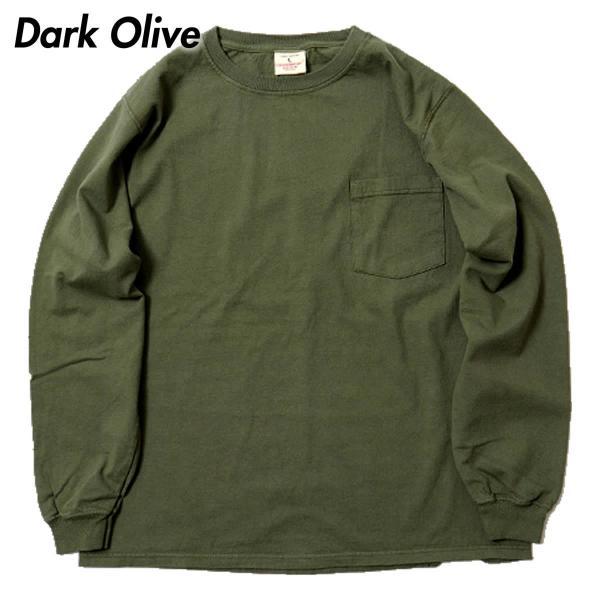 グッドウェア ポケット Tシャツ Goodwear L/S CREW NECK POCKET TEE|mash-webshop|06