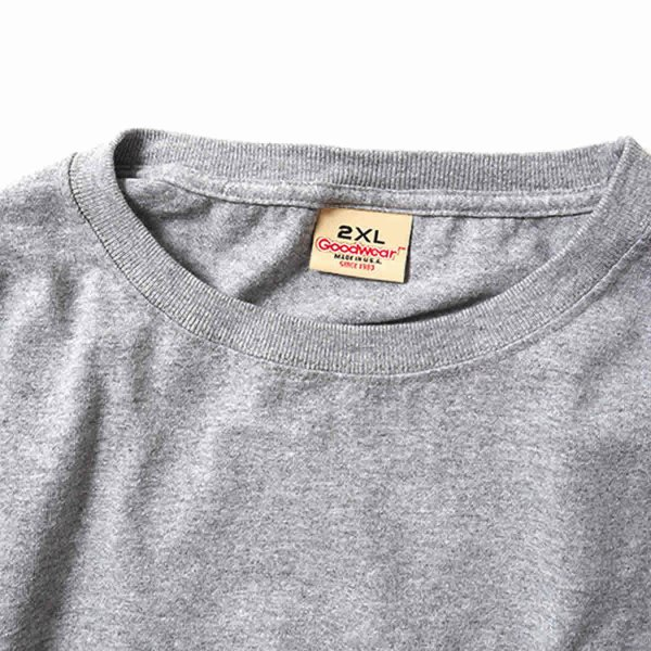 グッドウェア ポケット Tシャツ Goodwear BIG L/S CREW NECK POCKET TEE|mash-webshop|02