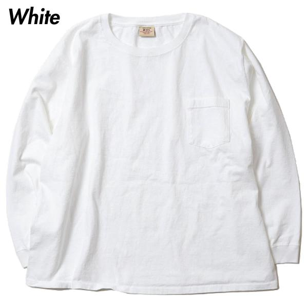 グッドウェア ポケット Tシャツ Goodwear BIG L/S CREW NECK POCKET TEE|mash-webshop|04