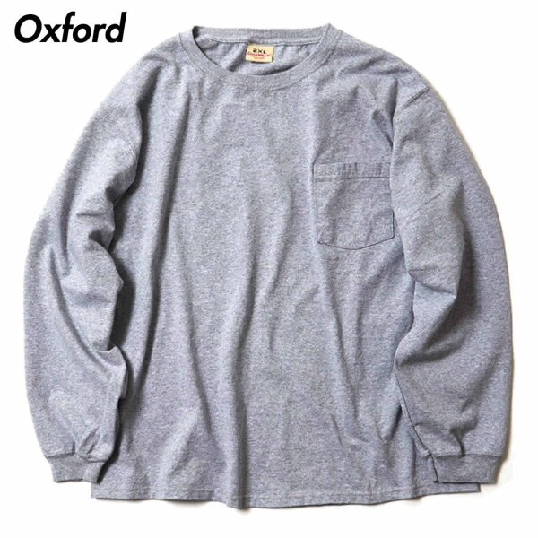 グッドウェア ポケット Tシャツ Goodwear BIG L/S CREW NECK POCKET TEE|mash-webshop|05