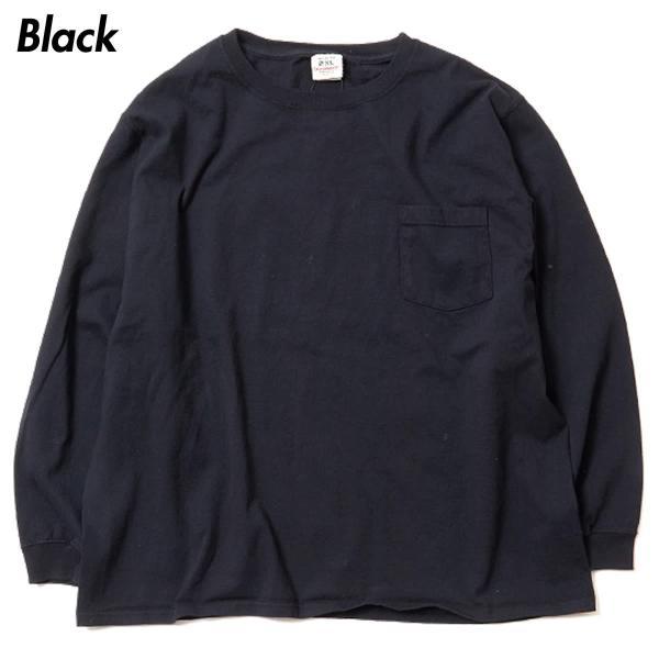 グッドウェア ポケット Tシャツ Goodwear BIG L/S CREW NECK POCKET TEE|mash-webshop|06