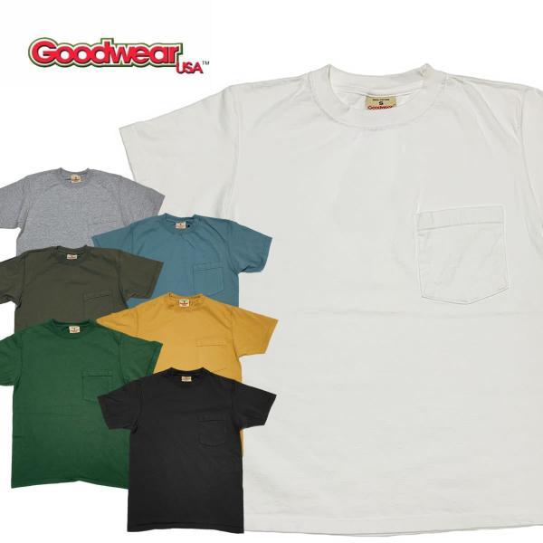 グッドウェア ポケット Tシャツ Goodwear S/S POCKET TEE|mash-webshop