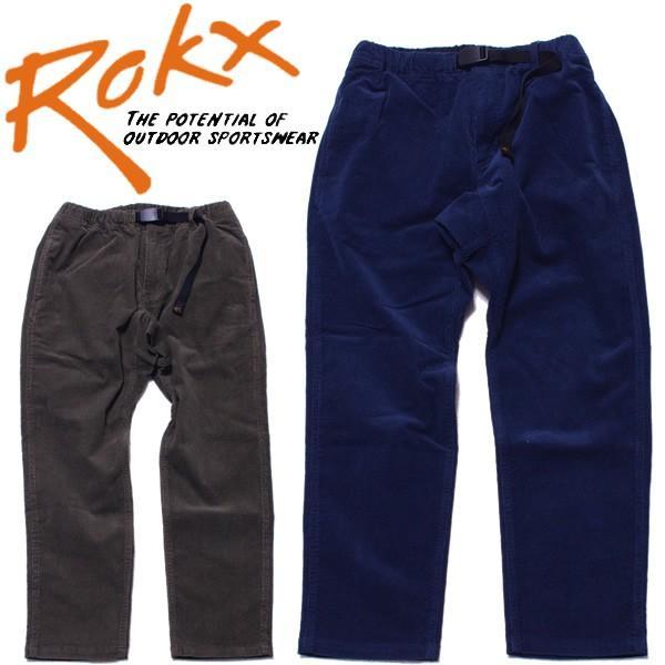 ROKX ロックス コード Wパンツ コーデュロイ ストレッチ|mash-webshop