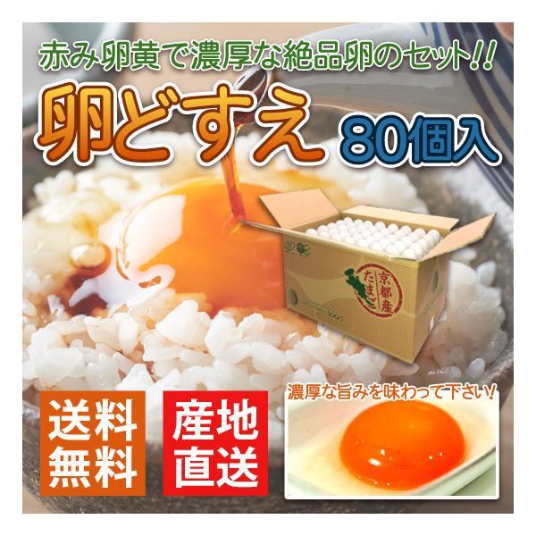 産地直送 グリーンファームソーゴ 卵どすえ 80個入 GFS たまご 送料無料