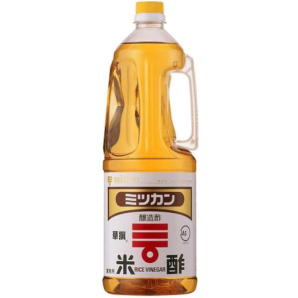【ミツカン】米酢(華撰) 1.8L ペット 業務用