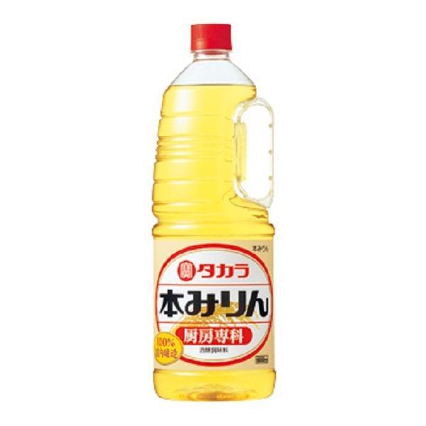 【宝酒造】タカラ 本みりん 厨房専科 1.8L ペット 業務用