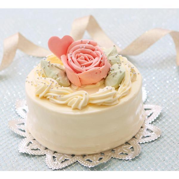 バタークリームケーキ 4号  誕生日ケーキ
