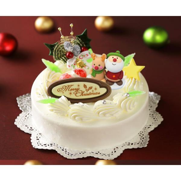 クリスマスバターケーキ 6号【クリスマスケーキ 2021】 北海道のバタークリームケーキ