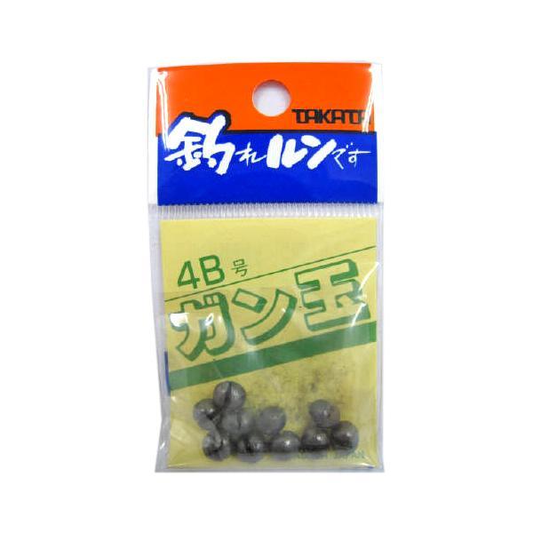タカタ ガン玉P 4B【ゆうパケット】