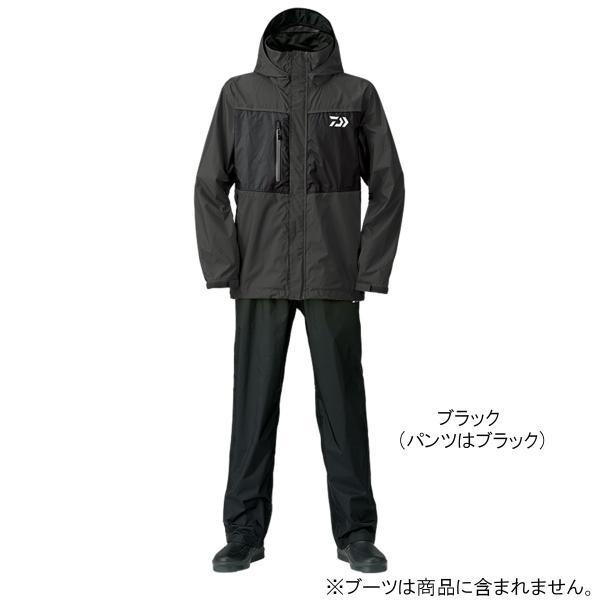 ダイワ レインマックス レインスーツ DR-36008 L ブラック