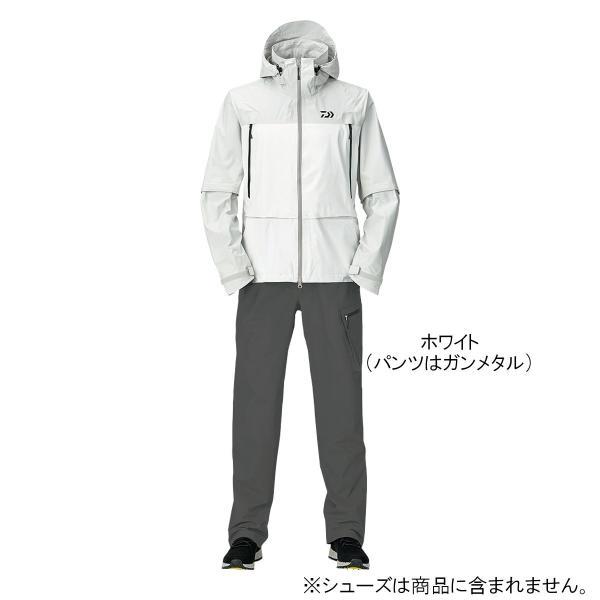 ダイワ レインマックス デタッチャブルレインスーツ DR-30009 L ホワイト【送料無料】