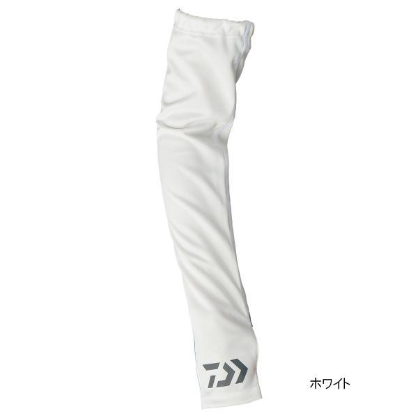 ダイワ クールアームカバー DG-77009 L ホワイト【ゆうパケット】