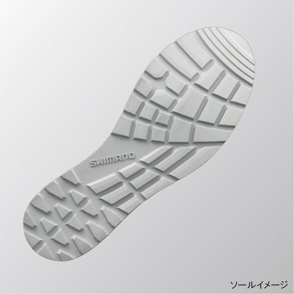 シマノ ショート・ショートデッキブーツ FB-064R M ネイビーホワイト