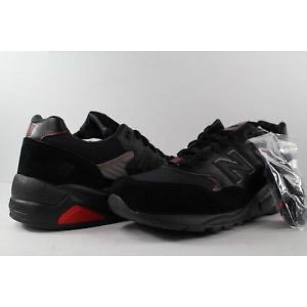 送料無料 ニューバランス メンズシューズe 男性 靴 シューズNew Balance 580 x Bait x GI Joe Snake Eyes Black Red Silver Size 10.5 MT580GI1正規輸入品 mastore274