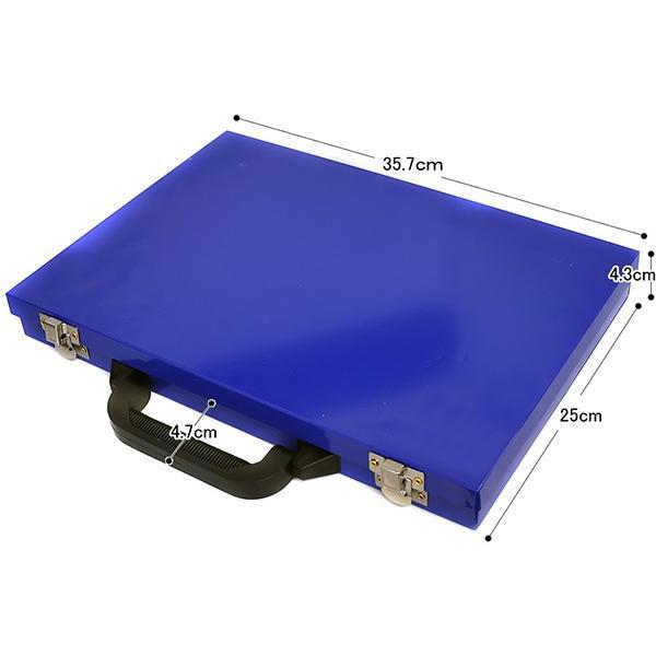 ドリルビット セット 電動ドリル 170p HSS鋼 チタンコーティング 仕上げ 1mm 〜 10mm 鉄工用 ビットセット ドリル刃 鋼 アルミ 銅|masuda-shop|05