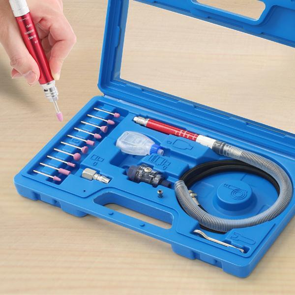 エアーグラインダーセット工具エアールーターミニルーター空圧工具作業工具研磨錆取り砥石