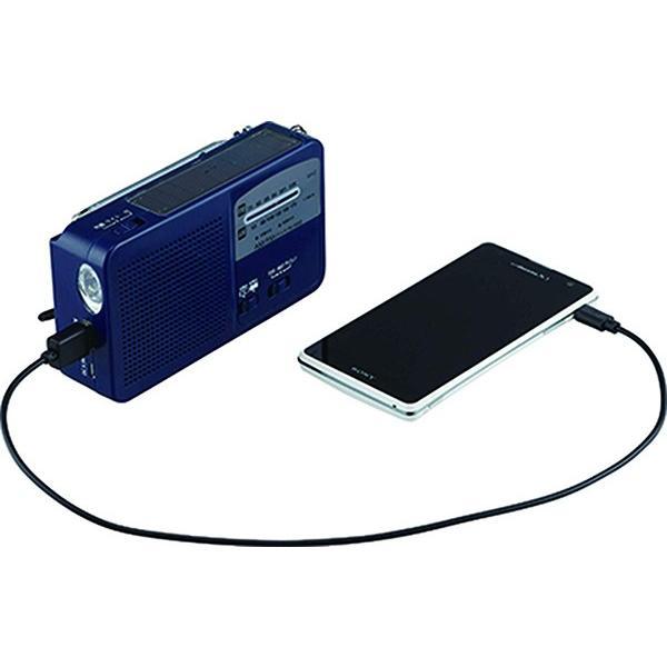 ラジオ 小型 ライト 手回し ポータブル LEDライト クロスフィールド マルチラジオライト 懐中電灯 ソーラー 乾電池 AM FM 非常時 災害時 停電|masuda-shop|04