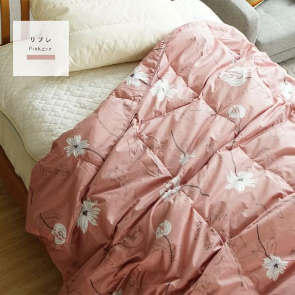 2枚組 シビラ 肌掛け布団 羽毛 洗える シングル ダウン50% ダウンケット sbilla 20周年記念商品|masumen|10