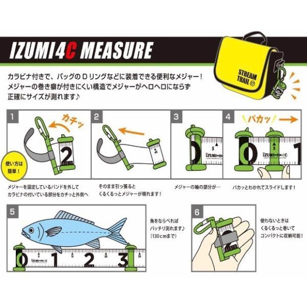 釣った魚を素早く測る IZUMI4Cメジャー