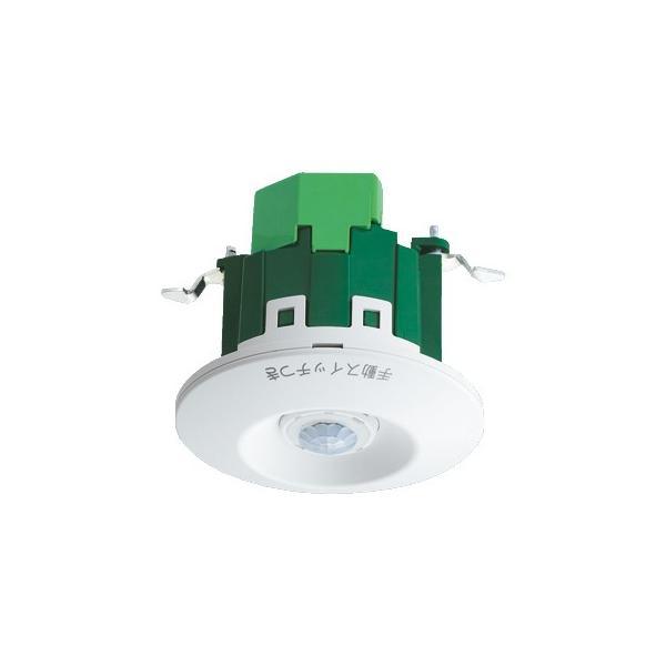 パナソニック(Panasonic) [天井取付]熱線センサ付自動スイッチ (明るさセンサ付)(ホワイト) WTK2611K