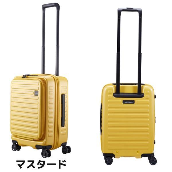 LOJEL ロジェール CUBO Sサイズ メーカー10年間保証付 スーツケース キャリーケース LOJEL CUBO ロジェール スーツケース  機内持ち込み n-cubo-s(新型)|masuya-bag|02