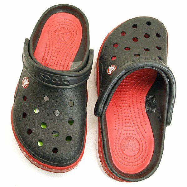クロックス crocs Front Court Clog 14300-063 黒/赤 フロントコート クロッグ サンダル メンズ masuya92 02
