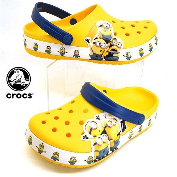 クロックス crocs Fun Lab Minions Multi Clog 205512-730 ファン ラブ ミニオンズ マルチ クロッグ サンダル ベビー/キッズ|masuya92