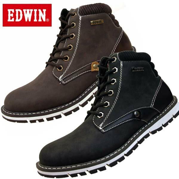 エドウィンEDWINワークブーツアウトドアEDW-7922防水設計メンズ