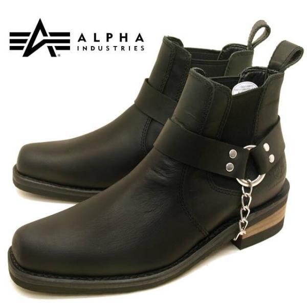 アルファ インダストリーズ ALPHA INDUSTRIES 20011 本革 サイドゴアブーツ メンズ ショートブーツ|masuya92|09