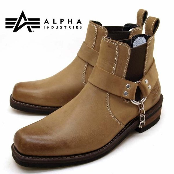 アルファ インダストリーズ ALPHA INDUSTRIES 20011 本革 サイドゴアブーツ メンズ ショートブーツ|masuya92|10