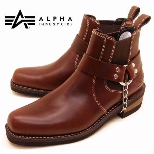 アルファ インダストリーズ ALPHA INDUSTRIES 20011 本革 サイドゴアブーツ メンズ ショートブーツ|masuya92|11