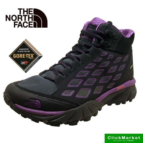 ノースフェース The North Face W Endurus Hike Mid GORE-TEX NFW01721 PW 灰紫 エンデュラス ハイク ミッド ゴアテックス 防水 登山靴 レディース