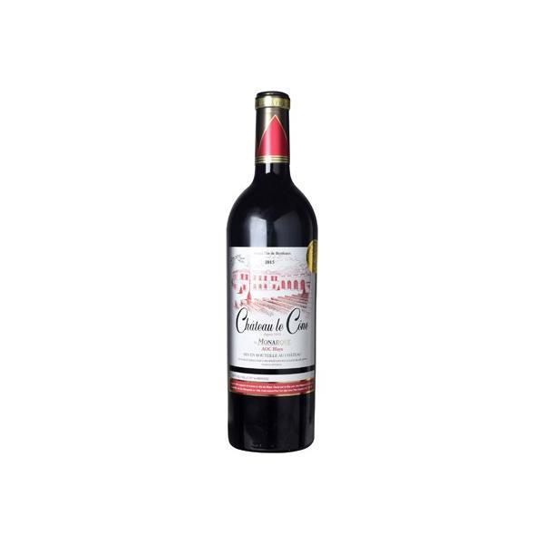 【6本~送料無料】[2015] CHル コーヌ ル モナーク 750ml 【CHル コーヌ】 赤ワイン フランス ボルドー ブライ