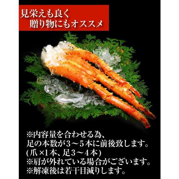 カニ かに 鍋 タラバ 足 蟹 たらば 新鮮品質の特大タラバガニ足(船上ボイル&船上冷凍)グロス800g 脚 冷凍便 送料無料|masuyone|04