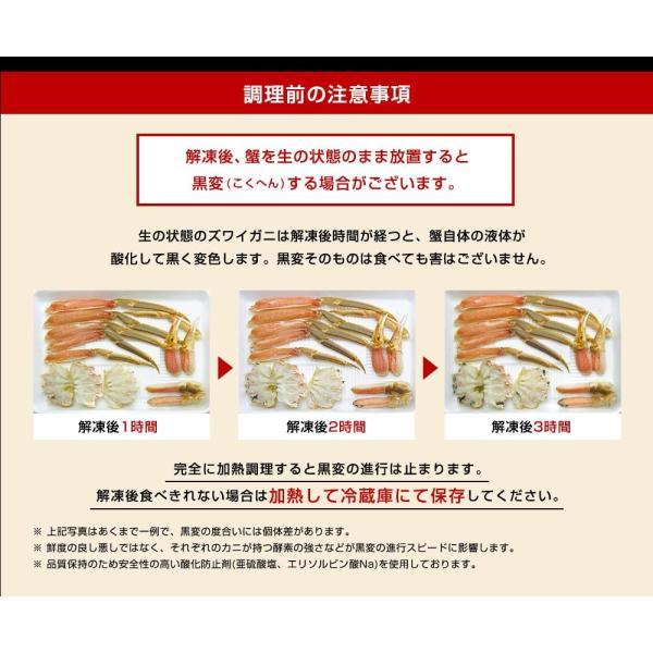 ※在庫切れ※ カニ かに 北海道産 ベニズワイ しゃぶしゃぶ 刺身OK 紅ズワイ棒肉フルポーション(3L〜4L) 1kg 40-50本 冷凍便 送料無料|masuyone|21
