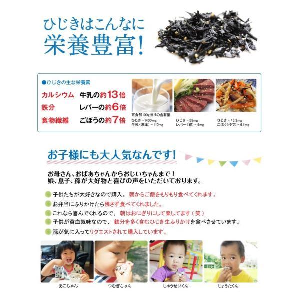 お弁当 健康 ひじき 生ふりかけ 分包5g×60袋(約60食分) いつも美味しさ新鮮1食分個包装 お弁当 ご飯のお供 小分け 常温便 送料無料|masuyone|13