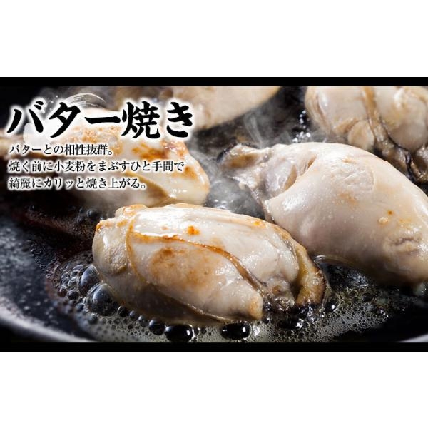 お中元 ギフト セール特価 牡蠣 生かき 広島 能美島周辺産 清浄海域産 大粒ジャンボ牡蠣1kg 30粒前後 2Lサイズ 解凍後850g IQF個別冷凍 生かき 剥き身 加熱用|masuyone|15