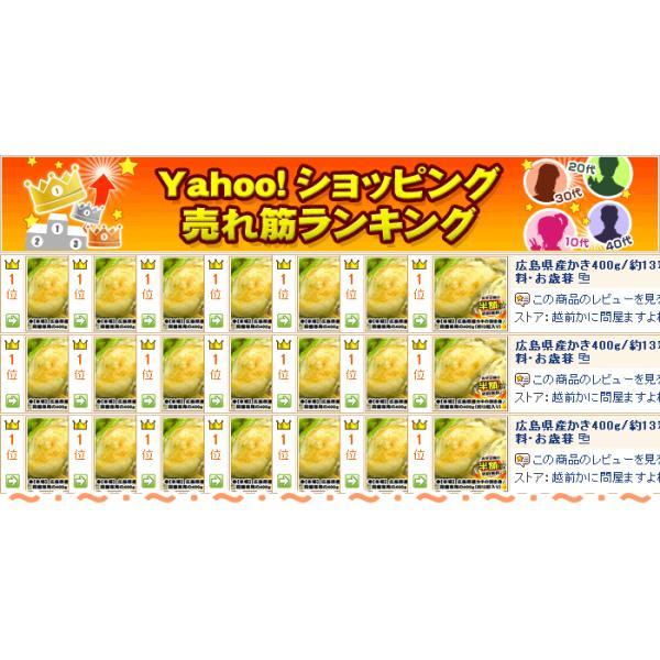 お試し同梱専用 広島産大粒牡蠣400g(約10粒/加熱用) [冷凍便/送料無料/※送料別途の冷凍便商品と同梱がおトク]|masuyone|04