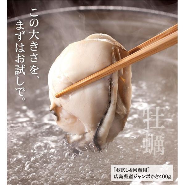 お試し同梱専用 広島産大粒牡蠣400g(約10粒/加熱用) [冷凍便/送料無料/※送料別途の冷凍便商品と同梱がおトク] masuyone 05