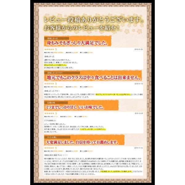 ※在庫切れ※ 北海道産 毛蟹 かに カニ 毛ガニ けがに 北海道産 濃厚 毛かに(ボイル済)500g前後×2匹 ギフト 北海道 ケガニ 冷凍便 送料無料 masuyone 07